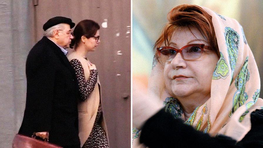 Елена Степаненко и Евгений Петросян с молодой женой