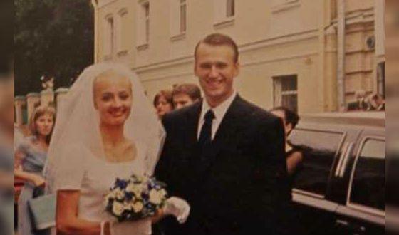 Свадебное фото Алексея Навального