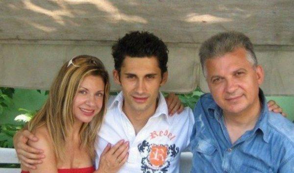 Дан Балан с мамой и папой