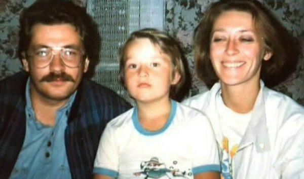 Влад Листьев, Татьяна Лялина и их сын Александр