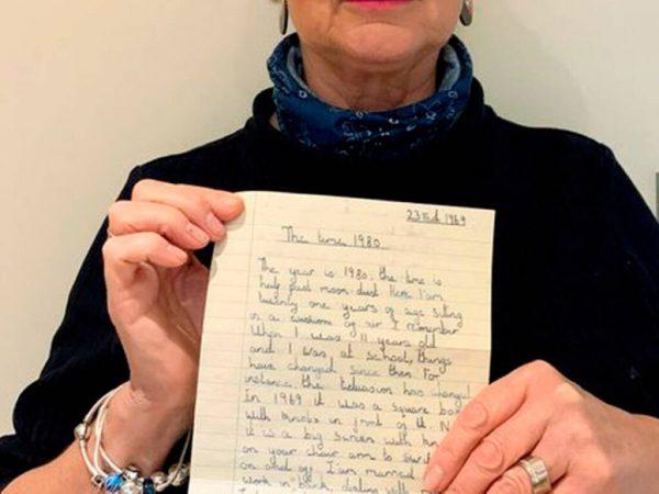 Письмо, найденное Питером Бекертеном,