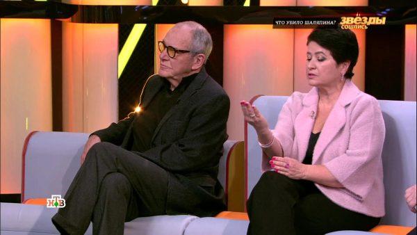 Эммануил Виторган с Ириной Млодик