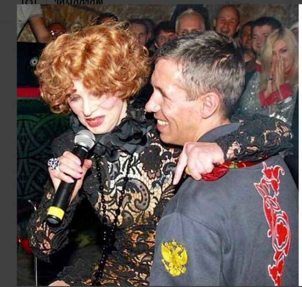 Гурченко на руках Андрея Панина