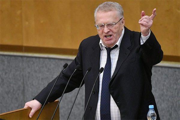 Владимир Жириновский кричит