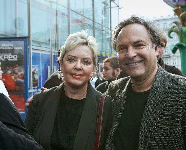 Родион Нахапетов со второй женой