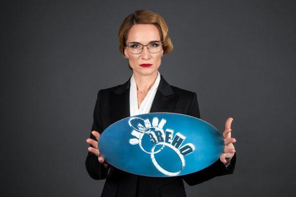 Мария Киселева в очках