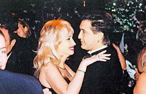 Ирина Аллегрова с бывшим мужем