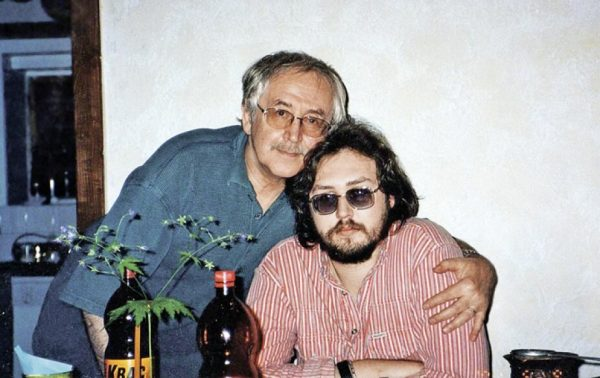 Василий Ливанов с сыном