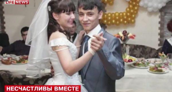 Валентина Исаева с мужем