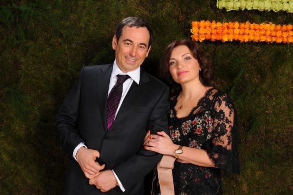 Роман Авдеев с женой