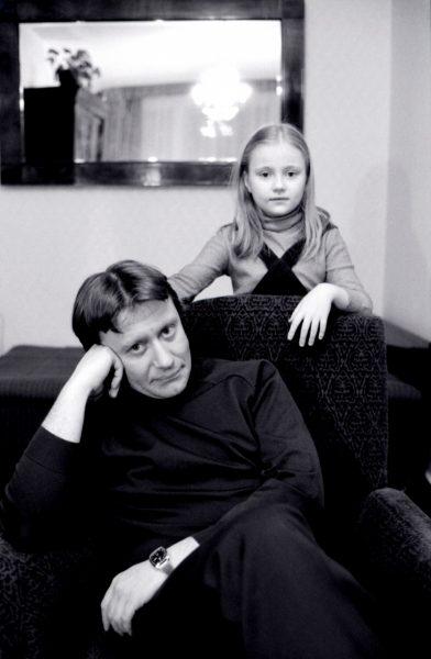 Андрей Миронов с дочкой