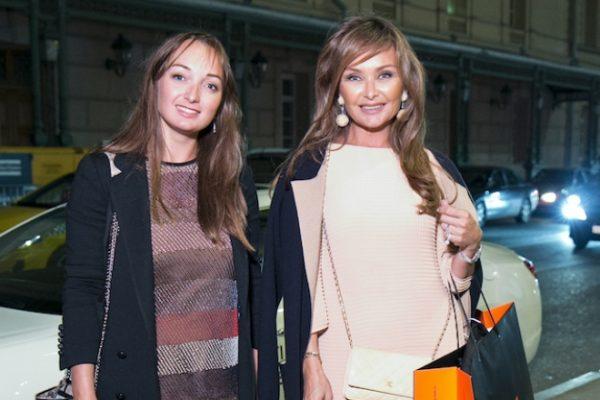 Елена Маликова с дочкой Олей