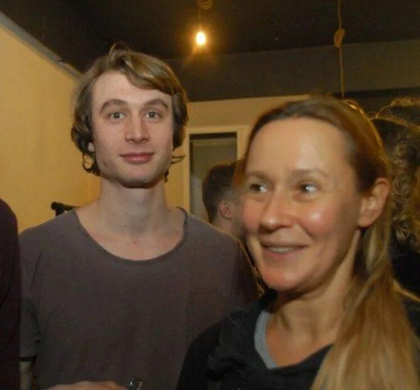 Евгения Дмитриева с мужем