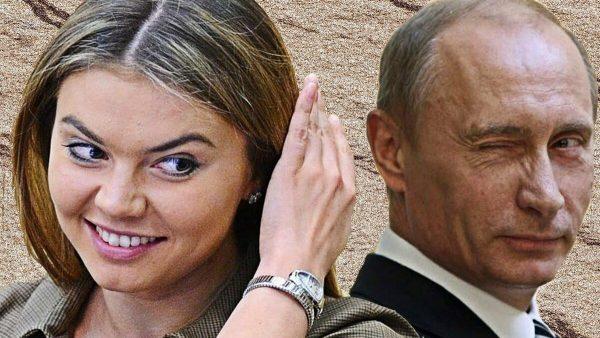 Кабаева и Путин