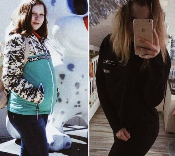 Полина Фетисова во время беременности