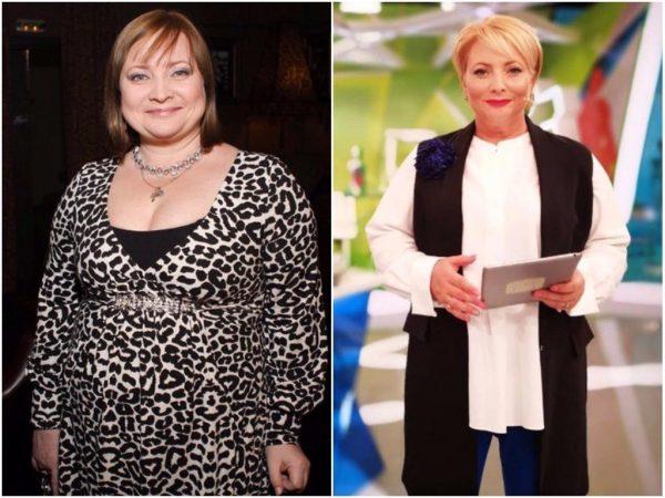 Светлана Пермякова до и после