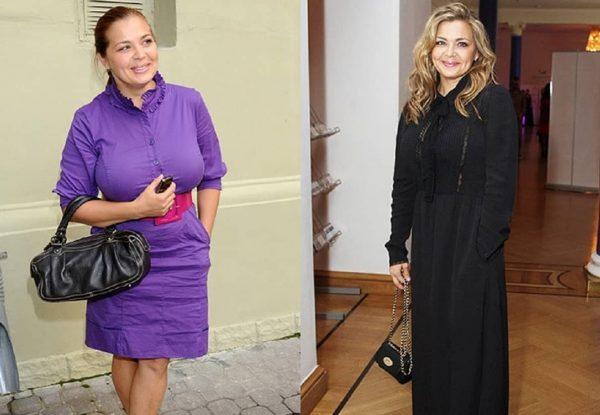 Ирина Пегова до и после