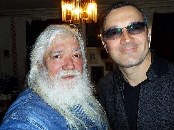 Егор Бероев с отцом