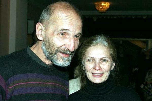 Петр Мамонов с женой