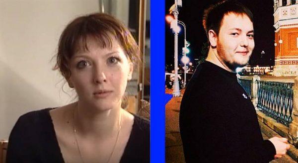 Ольга Понизова и сын Никита