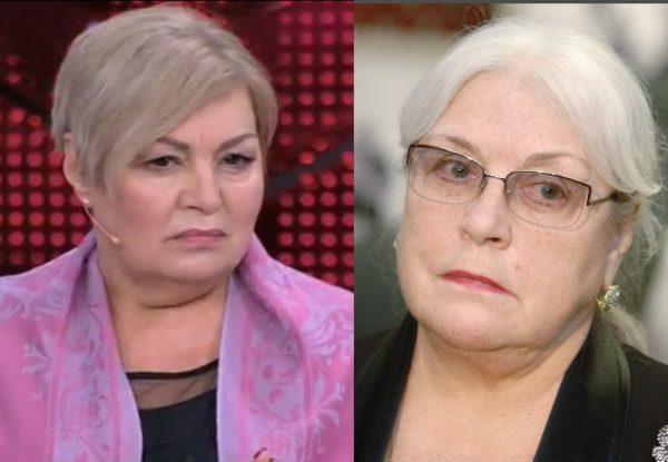 Лидия Федосеева-Шукшина и дочь Настя
