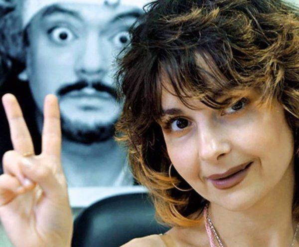 Ирина Ароян показывает класс