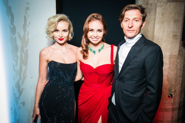 Полина Гагарина с Утяшевой и Волей