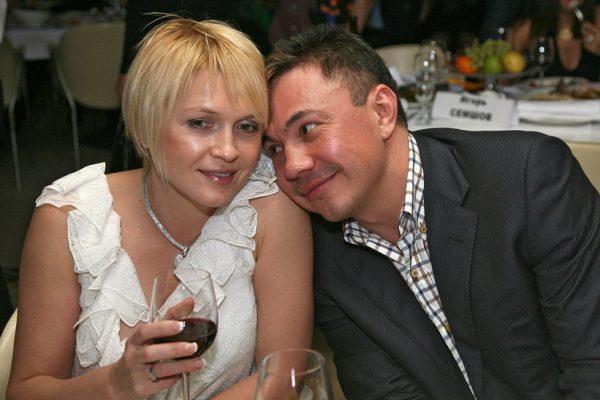 Костя Дзю с Натальей Аникиной