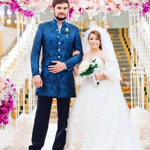 Свадебное фото Ксении Сябитовой и Андрея Снеткова