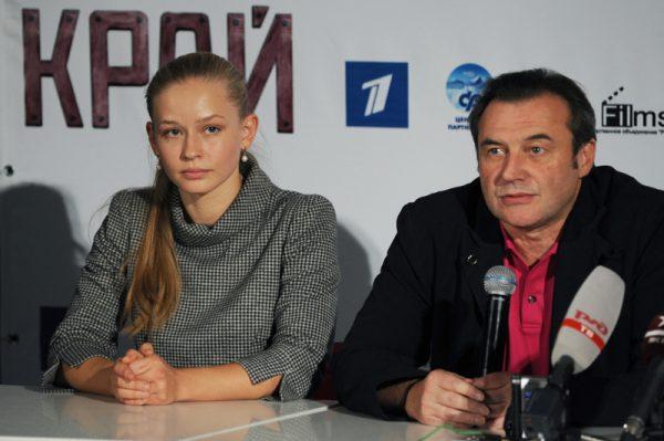 Юлия Пересильд и Алексей Учитель,