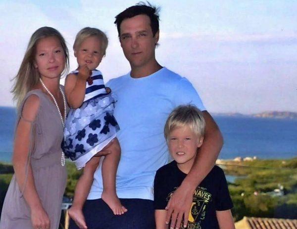 Юрий Шатунов с семьей