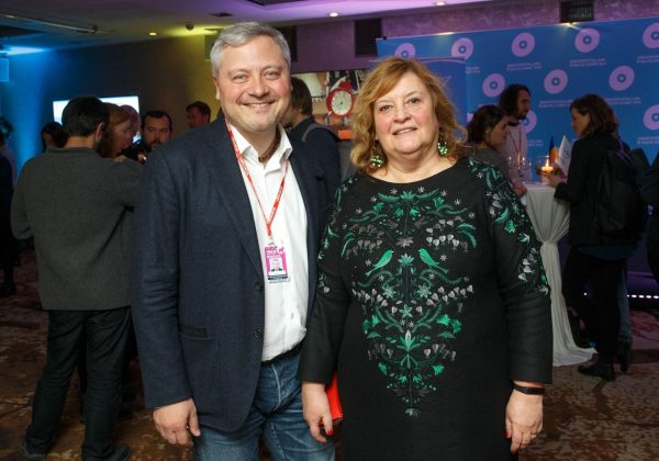 Игорь Янковский с женой
