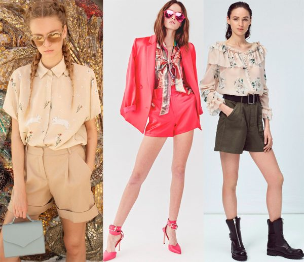 Модные женские шорты: тренды и новинки 2021