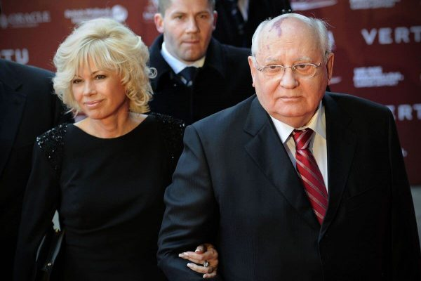 Михаил Горбачёв с дочерью Ириной