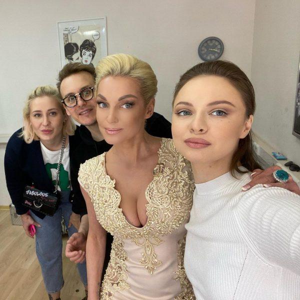 Анастасия Волочкова после съемки