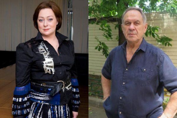 Мария Аронова и Валерий Афанасьев