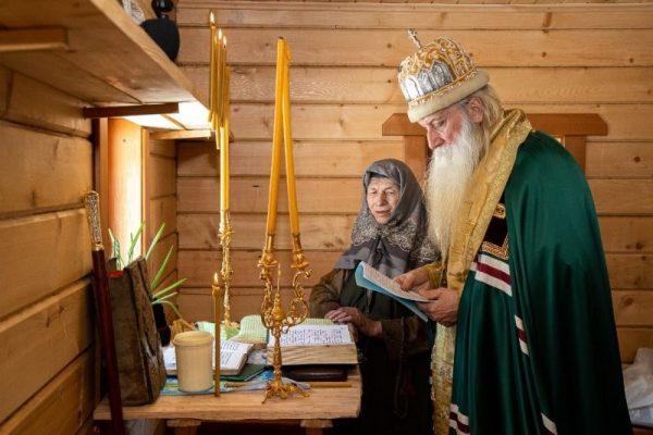 Новый дом Агафьи Лыковой. Фото - скрин с видео
