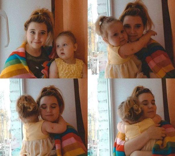 Полина Фетисова с Ульяной