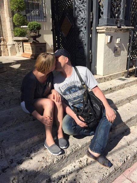 Поцелуй Андрея Данилка и Инны Белоконь