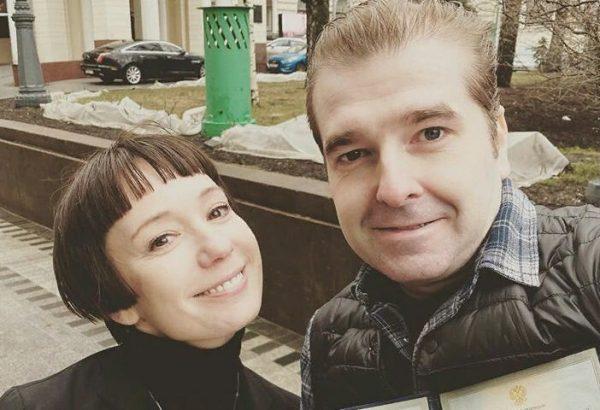 Чулпан Хаматова и Иван Волков