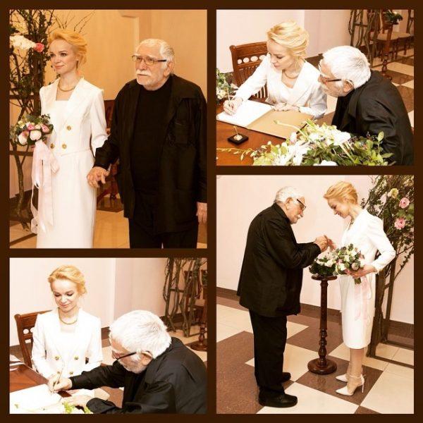 Свадьба Джигарханяна и Цымбалюк-Романовской