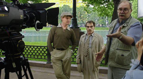Во время съемок «Мастера и Маргариты». Фото:gazeta.ru