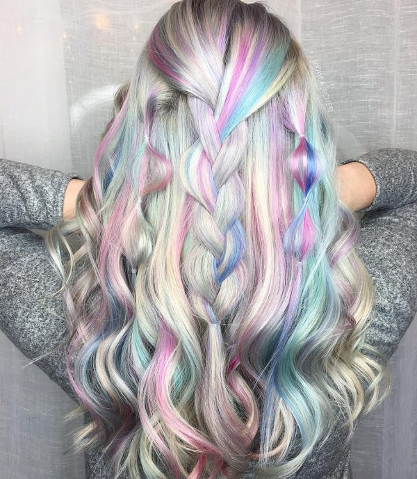 Модный цвет волос 2021
