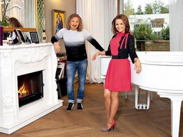 Юлия Проскурякова и Игорь Николаев в квартире в Юрмале