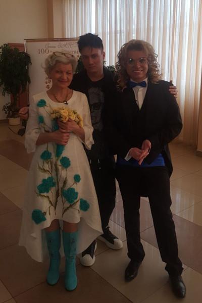 Фото со свадьбы Солнцева и Терешкович
