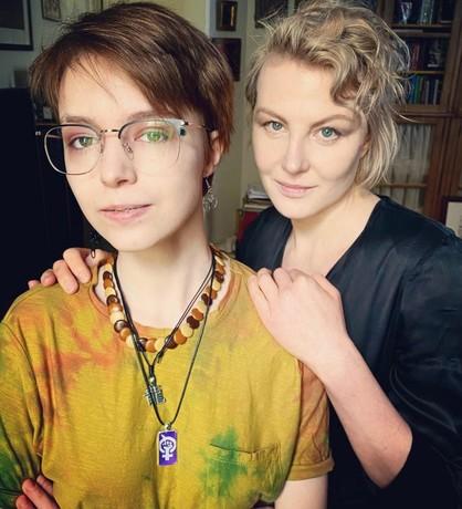 Рената Литвинова и Анна-Мария Ефремова
