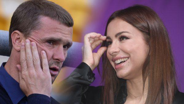 Сергей Ребров и Ани Лорак