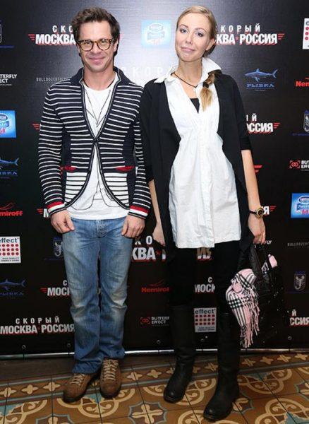 Павел Деревянко и Вера Гоппен