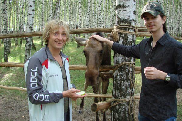 Сергей подружился с сыном Ливанова и Ирины Андреем