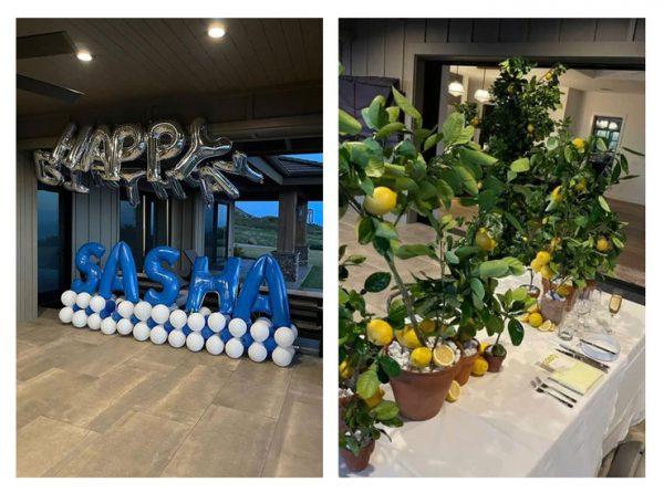 Лимонный Эдем - Дарина мило поздравила Сашу Цекало с днем рожденья (фото)